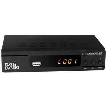 TUNER CYFROWY DVB-T/T2 EV104