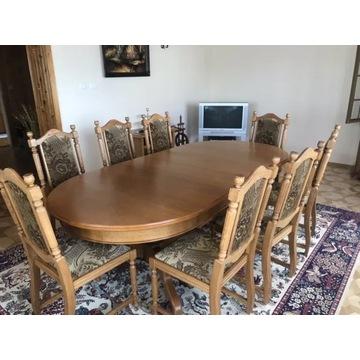 Stół dębowy rozkładany ,stylowy stan bardzo dobry