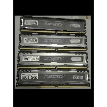 Pamięć RAM 8GB DDR4 4 szt. BALLISTIX