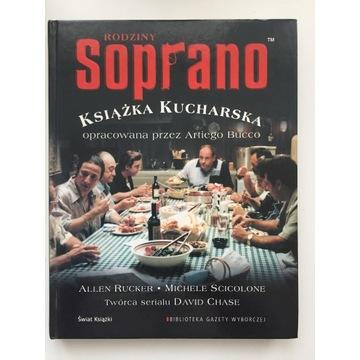 Książka kucharska Rodziny Soprano - Arti Bucco