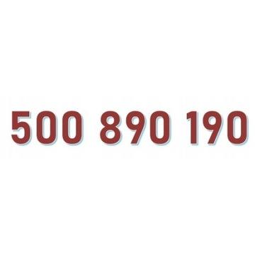 500 890 190 ORANGE ŁATWY ZŁOTY NUMER starter