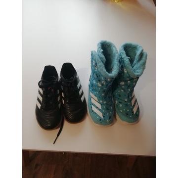 Buty Adidas śniegowce, adidaski
