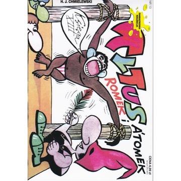 Tytus, Romek i A'Tomek księga 13 komiks dla dzieci