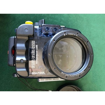 Obudowa podwodna do Sony A6000, A6300, A6500