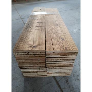 Stare drewno z historią DESKI na ścianę  LOFT