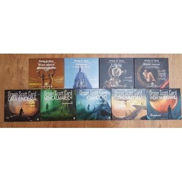 Philip K. Dick + Orson Scott Card - CD-mp3