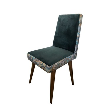 Designerskie krzesła puf tapicerowane , vintage, P