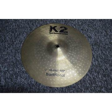 K2 - Hihat 14 cali - z brązu B20 - świetnie brzmi