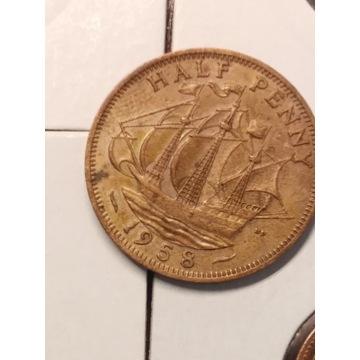 Lot monet angielskich