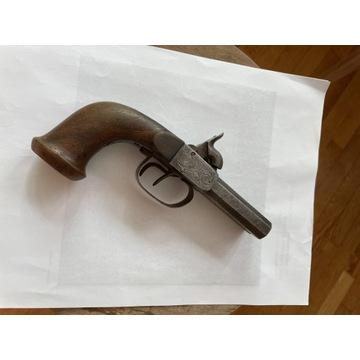 Pistolet czarnoprochowy kapiszonowy XIX