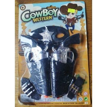 Zabawka zestaw Cowboya pistolet
