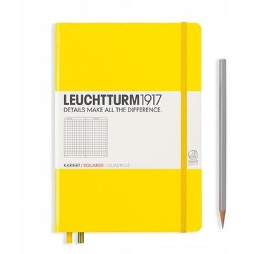 Notatnik Leuchtturm1917 Medium A5 Gładki Cytrynowy