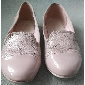Pantofelki dziewczęce r.33