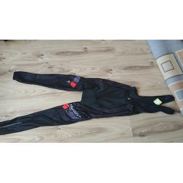 Spodnie rowerowe ocieplane z wkładką Wilier L