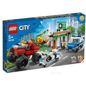 LEGO City Napad z Monster Truckiem 60245