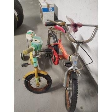 Rowerki dziecięce do naprawy od 1zł