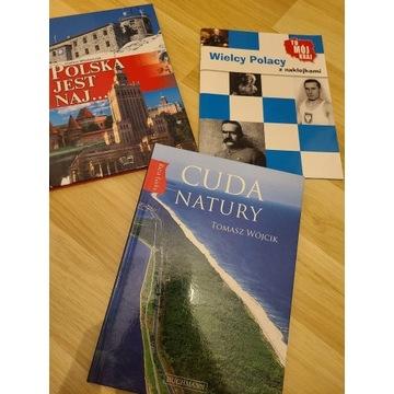 3 ksiązki o polsce
