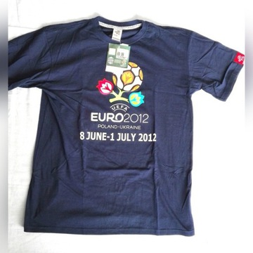 Koszulka T-shirt EURO 2012 Oficjalna rozm. L