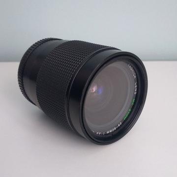 obiektyw YASHICA LENS MC ZOOM 28-80 mm analog