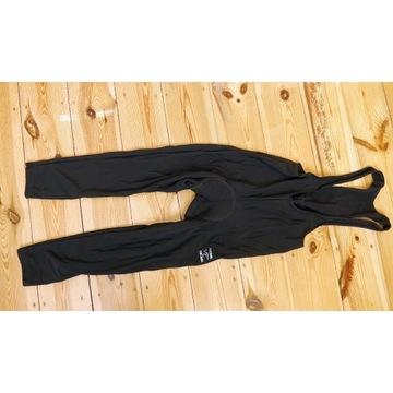 Black Wolf Superrubaix spodnie ocieplane szelki XL