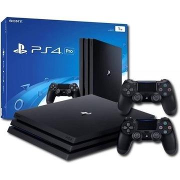 PS4 PRO + 2 pady + 3 gry + stacja dokująca