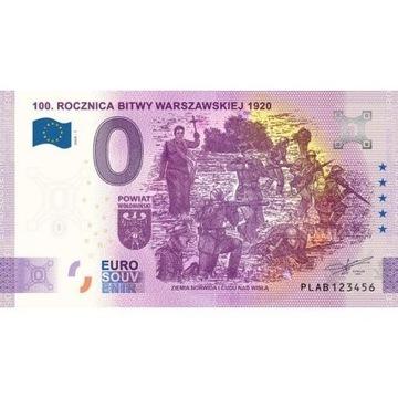 0 euro 100 rocznica Bitwy Anniversary numer 9215