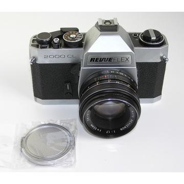 RevueFlex 2000 CL + Revuenon 55mm 1:1.7