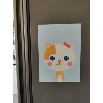 Magnes na lodówkę art. kotek dla kociarzy!