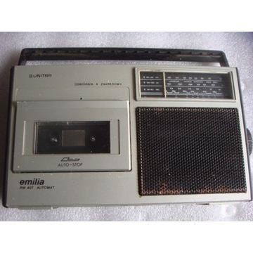 Radiomagnetofon Emilia RM 407 Automat Unitra Eltra