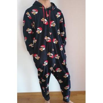 Piżama męska L/XL onesie kombinezon