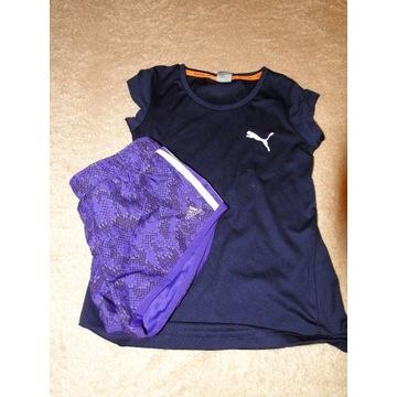 Firmowy strój sportowy dla dziewczynki 7-8 lat