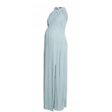 Suknia sukienka maternity ciążowa 40 plisy
