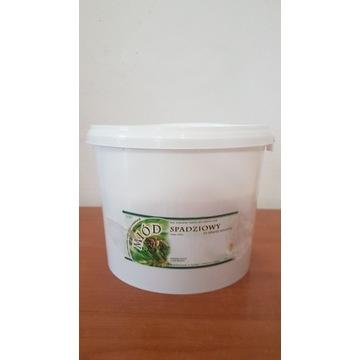 Miód Pszczeli Spadziowy Iglasty  wiaderko 5 kg