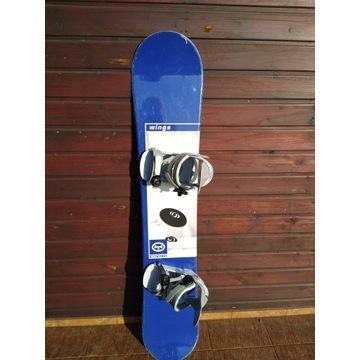 Snowboard HEAVY TOOLS z wiązaniami dł. 153 cm