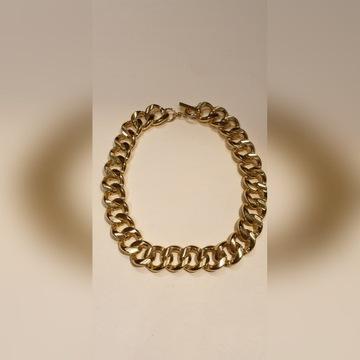 Duży złoty łańcuch