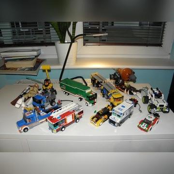 Klocki LEGO mix 11xZestaw city technic ninjago BCM