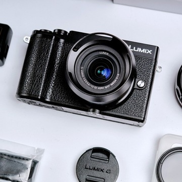 Lumix GX9 12-32mm adapter EFx0,71 mikrofon ND2-400