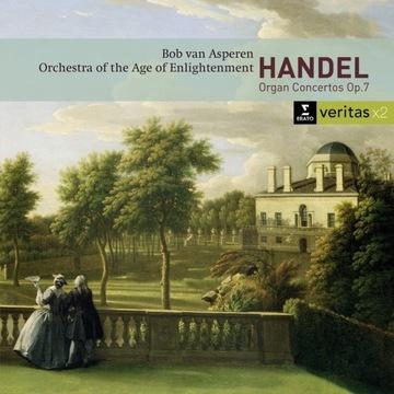 Handel: Koncerty organowe op.7 - Asperen - Erato