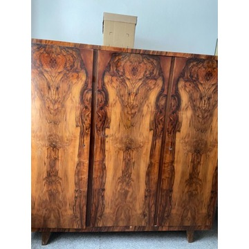 Szafa drewniana z lat 60-tych