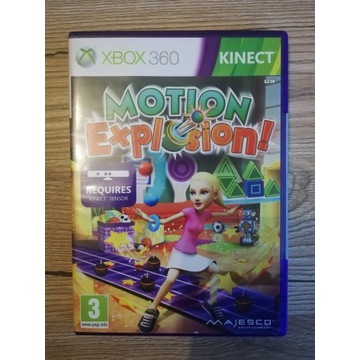 Motion Explosion Kinect Xbox 360