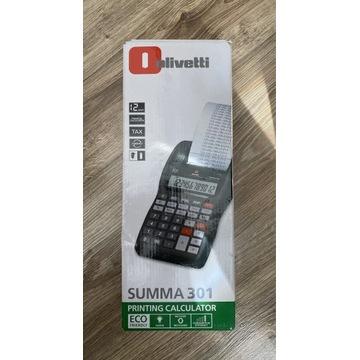 Olivetti Summa 301 kalkulator drukujący