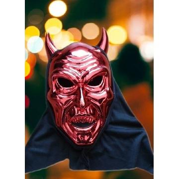 MASKA Diabeł Rogi Halloween Karnawał Unisex