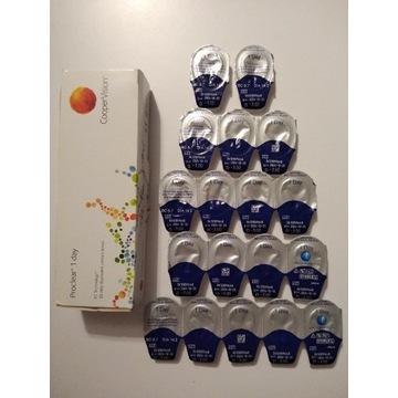 Soczewki jednodniowe Proclear 1 day -3,00 18 sztuk