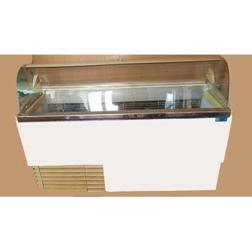 Witryna do lodów kulkowych kuweciarka ISA  9 kuwet