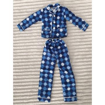 BJD Dollfie SD 1/3 niebieska ciepła piżama grochy