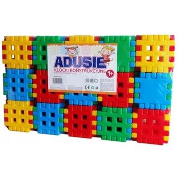 Klocki konstrukcyjne Adusie 90 elementów