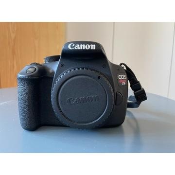 Canon EOS Rebel T5 (EOS 1200D) + torba