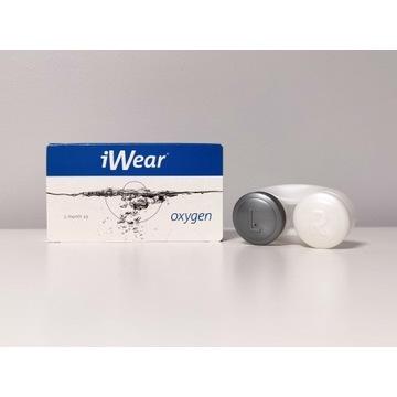 Soczewki kontaktowe miesięczne iWear oxygen -4,0