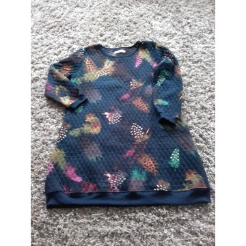 Tunika,sukienka XL długa, ocieplana.