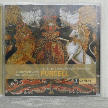 PURCELL Hail! Bright Cecilia Music For Queen Mary